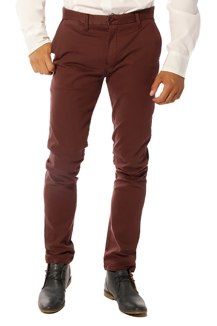 pantalon homme kaporal kevin bordeaux 50 destock jeans. Black Bedroom Furniture Sets. Home Design Ideas