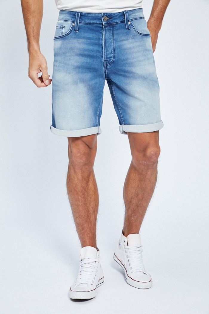 Short, Bermuda Jack & Jones Short en jeans pour homme