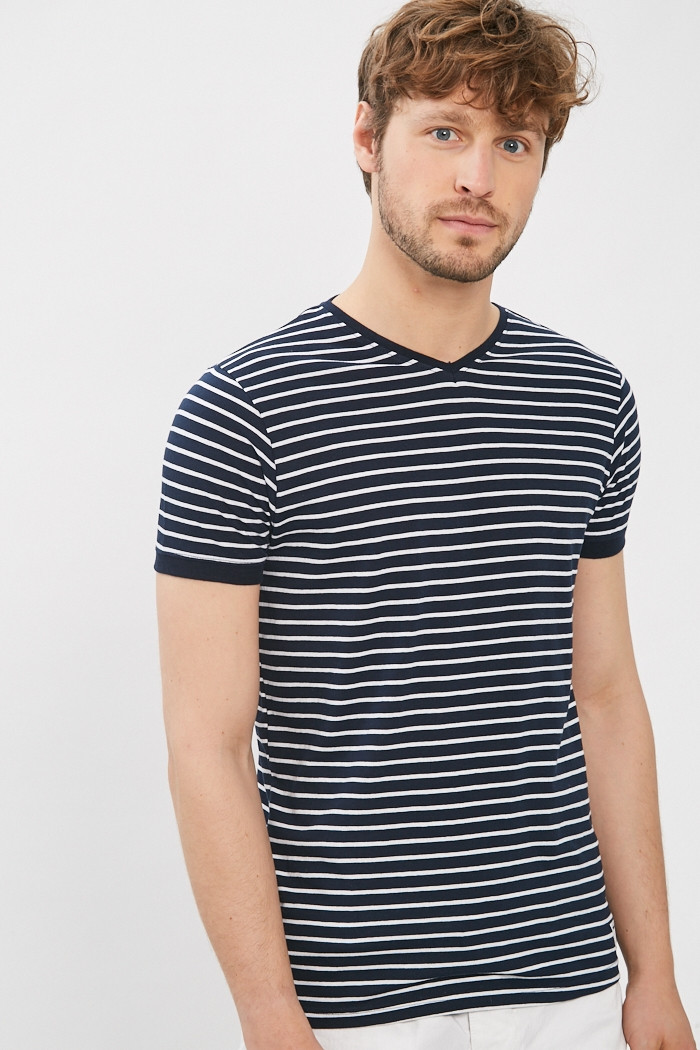 T-shirt Paname Brothers T-shirt col V pour homme