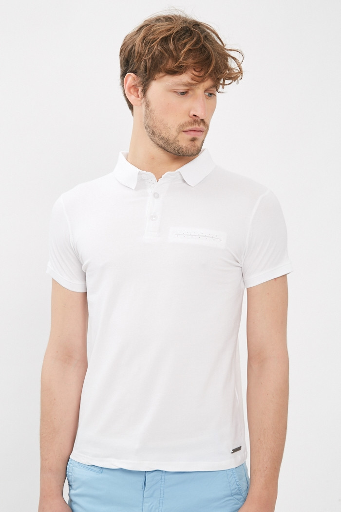 Polo Paname Brothers Polo manches courtes pour homme