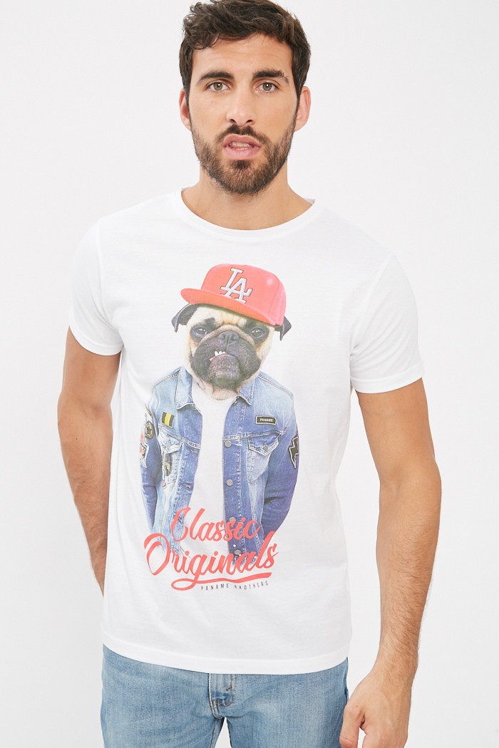 T-shirt Paname Brothers T-shirt manches courtes pour homme