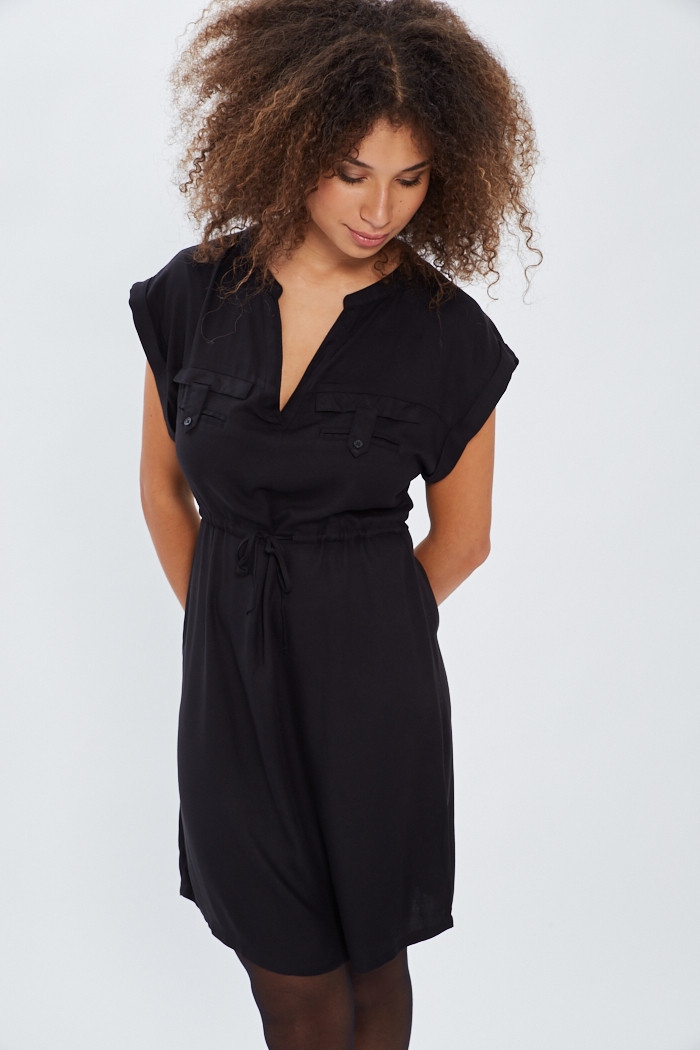 Robe Only Robe noire pour femme