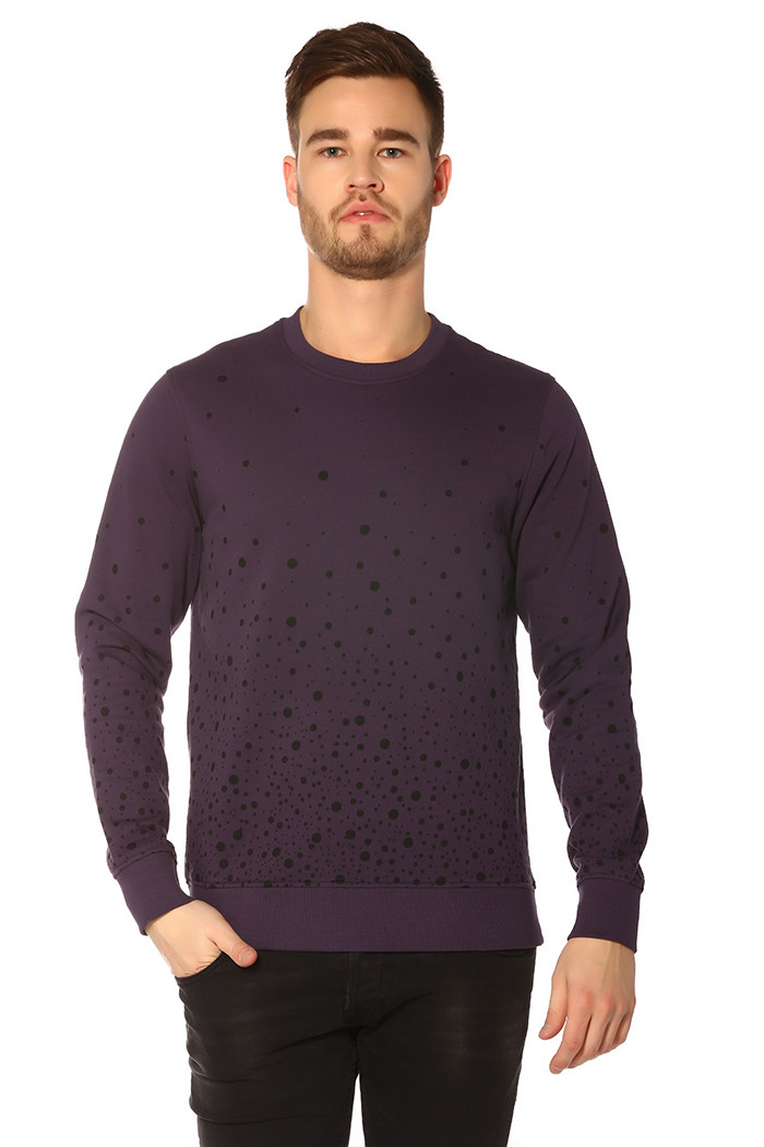 Sweat Jack & Jones Sweat Splash Night Shade pour homme