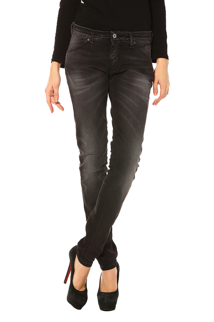 Jeans Please Jeans skinny dark pour femme