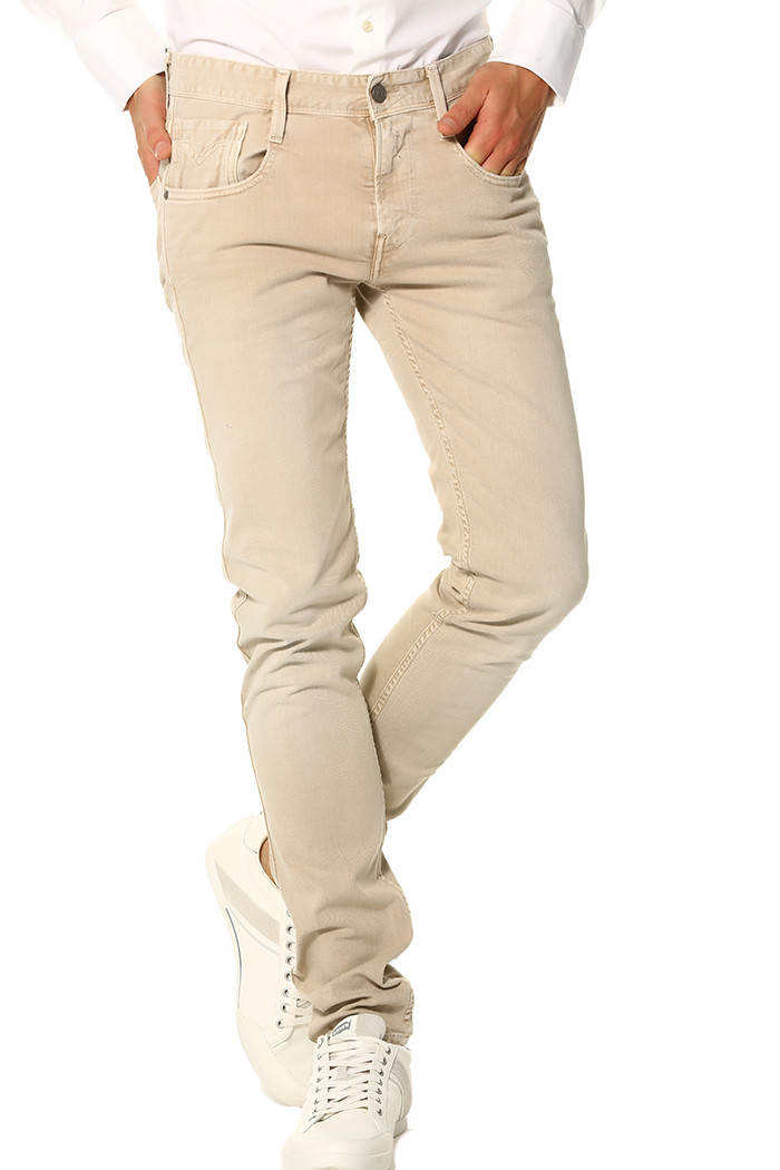 Jeans Replay Jeans beige  pour homme