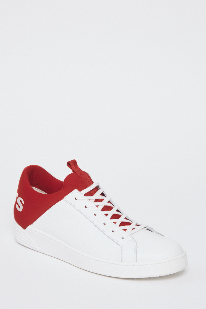 Chaussures Levi's Sneakers rouge et blanche pour homme