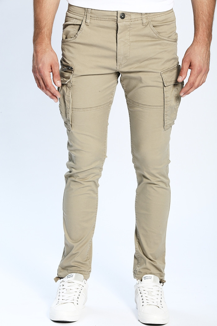 Pantalon Jack & Jones Pantalon Paul beige  pour homme