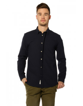 COLE SHIRT LS_NAVY BLAZER