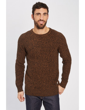 ANDREAS KNIT CREW NECK_MEERKAT/KNIT FIT