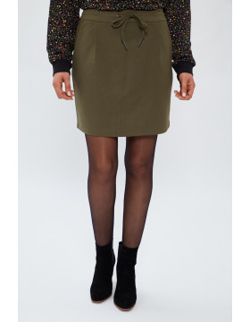 EVA SHORT SKIRT_Ivy green