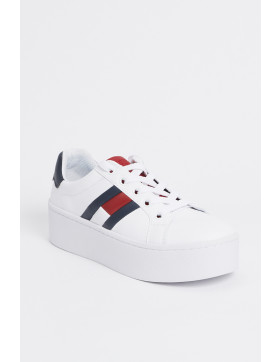 Chaussures Tommy Hilfiger Baskets à platerforme blanches pour femme