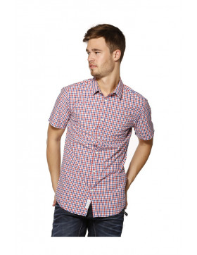 TIM SHIRT S/S NO POCKET - CAYENNE/SLIM FIT 12106240