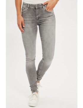 Jeans Only Jeans skinny gris  pour femme