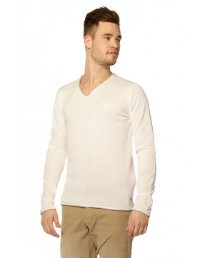 Pulls, Gilets Kaporal Pull Kerin White pour homme