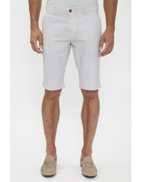 Shorts, Bermudas Paname Brothers Short chino blanc pour homme