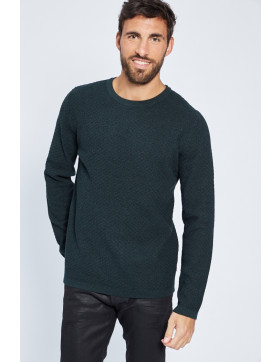 Sweats Jack & Jones Sweat col rond kaki pour homme