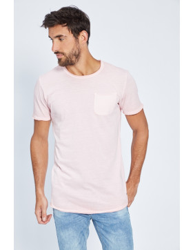 T-shirts Jack & Jones T-shirt rose pour homme