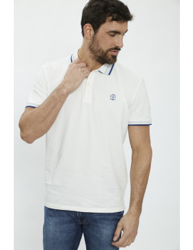 Polos Tom Tailor Polo blanc  pour homme