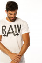 T-shirt G-Star Raw T-shirt Anteq Whit pour homme