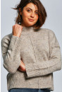 Pull, Gilet Only Pull taupe pour femme