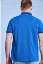 Polo Armani Exchange Polo bleu royal pour homme