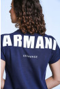Pull, Gilet Armani Exchange Pull manches courtes pour femme